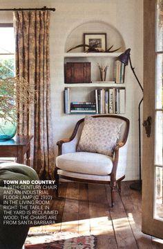 Caroline Murphy's home featured in Vogue.