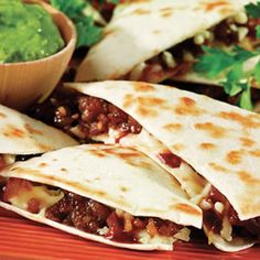 BBQ chicken Quesadilla  flour quesadilla sauce  chicken breats  white & yellow cheese (your preferance)  bacon bites (opptional)   BBQ sauce sweet baby rays or your choice.   dip with ranch or southwest rance