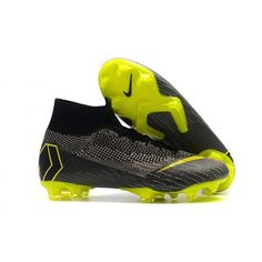 Check out the New Nike Mercurial Superfly VI 360 Elite FG Football Boots -  Dark Grey Black Yellow at here. Shop for cheap football boots in this shop 6b9d9fce7