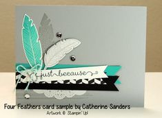 Four-feathers-catherine-sanders-stampin-up-card