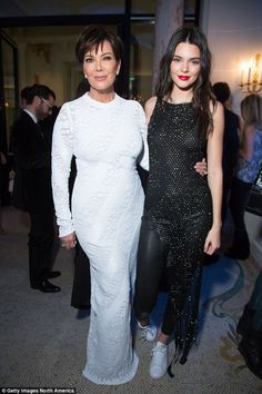 Famous mother and daughter: Josephine said': 'I get told all the time that I look like Kendall Jenner and you know my mum is like Kris Jenner right now - having to be my manager all of a sudden