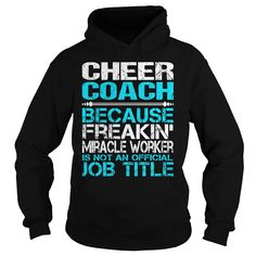 AWESOME TEE FOR CHEER COACH