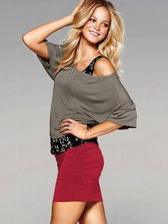Zip Mini Skirt - Victoria's Secret