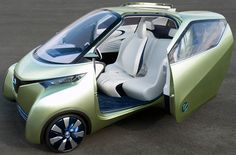 Futuristic Car, Nissan Pivo 3, Electric Vehicle