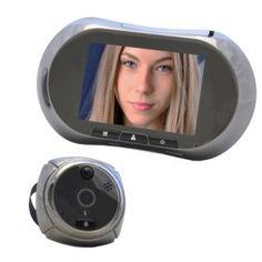 """Видеоглазок ATIS AD-2MGSM AD-2MGSM Видеоглазок с сенсорным дисплеем, датчиком движения, GSM модулем для отправки ММS с фото посетителя. 3.5""""TFT дисплей, 1600х1200; 1280х960; 640х480; 320х240, автоматическая запись видео или фото при вызове, запись на microSD до 32 Гб, ик-подсветка.Видеоглазок с сенсорным дисплеем, датчиком движения, GSM модулем для отправки ММS с фото посетителя. Основным отличием видеоглазка AP-2MGSM является наличие GSM модуля для отправки SMS или MMS при нажатии на кнопку…"""