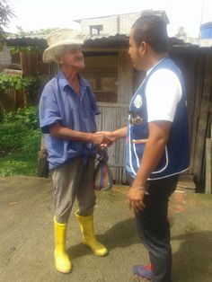 Balzar #LeoClub (Ecuador) gave supplies to low-income families for International Leo Day