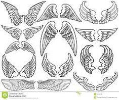 Bildergebnis für engelsflügel zeichnung bleistift