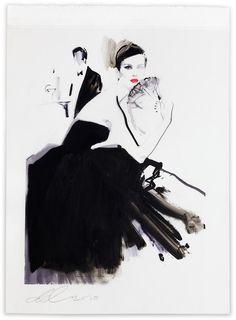David Downton illustration