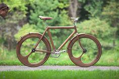 Ideeën - Houten fiets - Jan Gunneweg