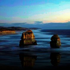 12 Apostles at twilight. Awsome.  #roadtrip #greatoceanroad #12apostles #victoria #Australia #stunning #wonder #world #ocean #landscape #seascape #photo #dusk #twilight #miracle #nature #super #beautiful by marioetes http://ift.tt/1ijk11S