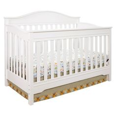 Eddie Bauer® Langley Crib - White