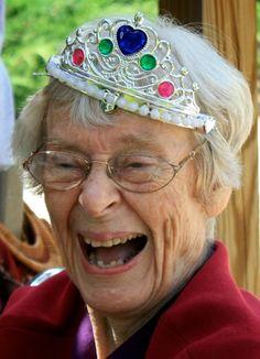 Beautiful 90-year-old Princess