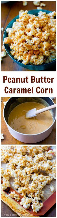 Peanut Butter Caramel Corn! Love this stuff.
