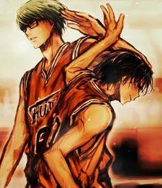 Midorima Shintarou + Takao Kazunari   Kuroko no Basket