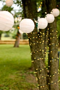 wedding lights.  I love this.  what a great idea!