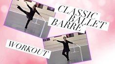 full dance ballet class - YouTube