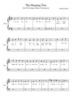 Sheet music made by Thereformity for Piano