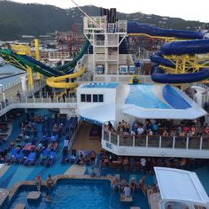 Overlooking the water park  #NCL Escape