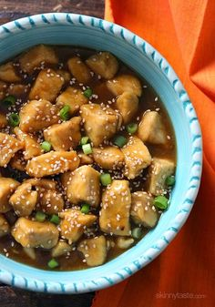 Orange Chicken Makeover –Light and delicious, serve this over zoodles!