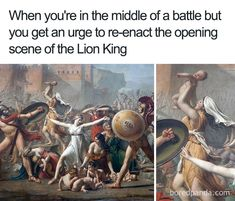 Going Rafiki In The Rough - History Memes - - 50 Of The Funniest Classical Art Memes Ever (New Pics) The post Going Rafiki In The Rough appeared first on Gag Dad. Renaissance Memes, Medieval Memes, Funny Art, Funny Memes, Jokes, 9gag Funny, Memes Humor, Memes Historia, Art History Memes