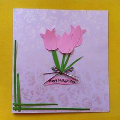 DIY Mother's Day Tulip Card or Artwork