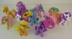Lot Of 11 My Little Pony Friendship Is Magic Ponies Twilight Princess Celestia | eBay