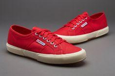 Superga Shoes - Superga 2750 Cotu - Superga Trainers - Red