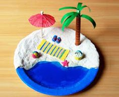 Make a Mini Beach