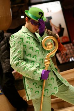 The Riddler by CaptainCosplayyy on DeviantArt