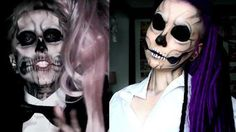 Lady Gaga Sugar Skull Makeup