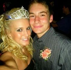 My daughter and son. She was crowned Homecoming Queen! Lol They are both inspiring to this Momma...<3 them.