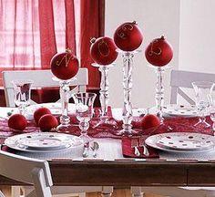 Suzie: Miscellaneous - Simple Christmas Centerpieces - Christmas, decorating, ornaments