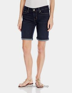 Signature by Levi Strauss & Co. Levi Strauss & Co, Gold Labels, Denim Shorts, Jeans, Bermuda Shorts, Women Shorts, Stuff To Buy, Amazon, Link