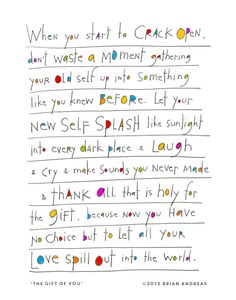 Yes, this. :: StoryPeople print by Brian Andreas *love his work so much been a fan a very long time