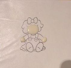 ♥ Cómo hacer un transfer con glasa para decorar galletas