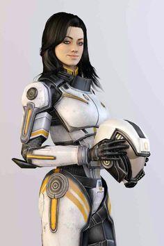 Ceberus armor Miranda