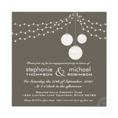 Garden Lights Personalised Announcement
