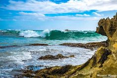 #photography #beaches #water #sand #warrnambool #victoria #middleisland #watercave #rocks #outdoors #wave by megapixelmomentsphotography