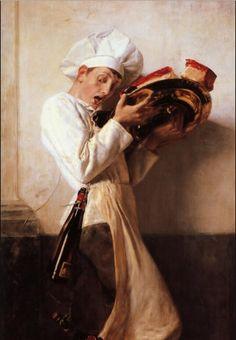 Nikolaos Gyzis - Pastry Man 18..