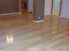 Lighter tones conceal dust and dirt, plus they can make your space feel larger. | 2015 Fall Flooring Trends