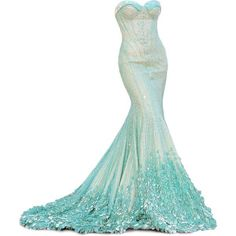 Disney's Frozen inspired dress. this could be my Disney prom dress