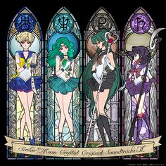 Sailor Scouts of the outer universe - Google