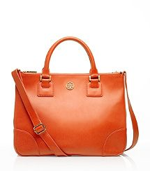 Robinson Double Zip Tote ... Love it for the fall ... Tory Burch