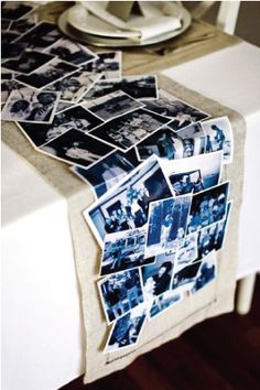 Oh So Beautiful Paper: Wedding Stationery Inspiration: DIY Table Runners