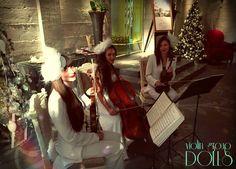 """Струнное трио Violin Group DOLLS - юбилей в ресторане """"Турандот"""""""