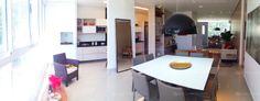 Apartamento 3 Quartos Decorado Terra Mundi Parque Cascavel - Living Integrado com a Cozinha