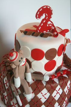 Idea for Jaxson's 1st birthday cake!