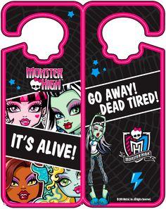 Monster High Door Hanger. X