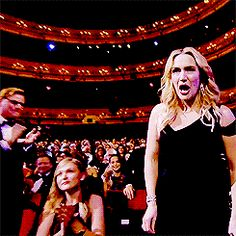 Kate Winslet wins Best Supporting Actress award giving Leo a hand squeeze on her way up Leonardo And Kate, Kate Winslet And Leonardo, Titanic Ship, Rms Titanic, Leo Dicaprio Kate Winslet, Leo And Kate, Jack Dawson, Camila Morrone, Young Leonardo Dicaprio