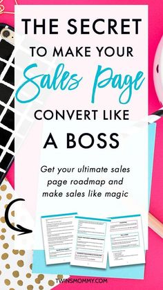 The Secret to Making Your Sales Page Convert Like a Boss – Did you just launch a product? Have you thought about your sales page design? There's something that all the pros are doing on their sales page that you're not. Find out what it is and make sure t